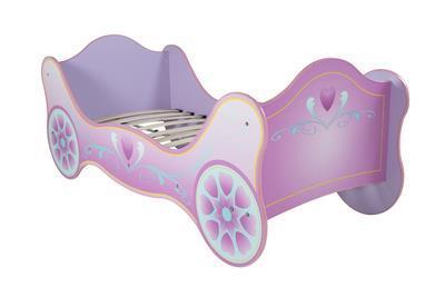 Magic Carriage säng rosa