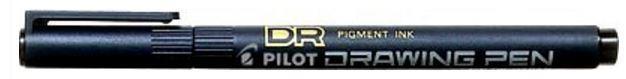 Fiberpenn Pilot drawing pen 0,8 sort
