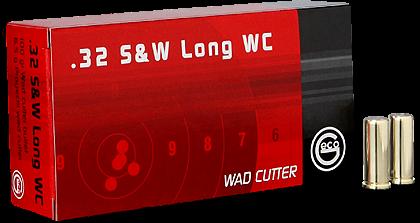 Geco .32 S&W Long 100 grs WC (50st)