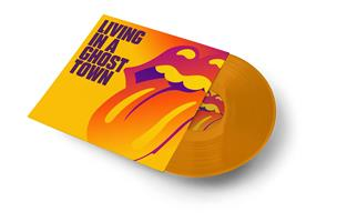 ROLLING STONES: LIVING IN A GHOST TOWN-ORANGE 10
