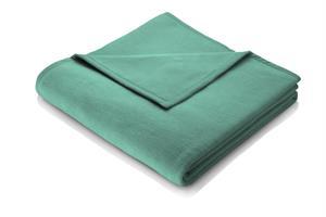 Enfärgad bomullsfilt mintgrön