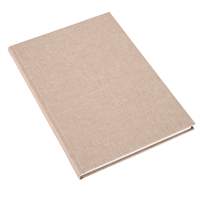 Notatbok vev A4 Record Sand