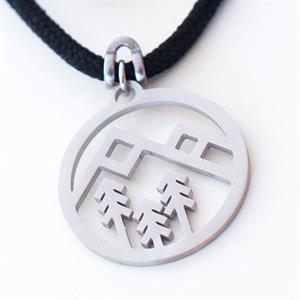 Halsband berg och skog
