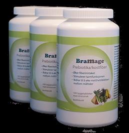 BraMage Prebiotika/kostfiber abonnement 3stk.
