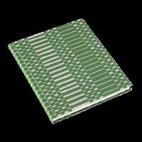 Notatbok 170x200 Helios Grønn