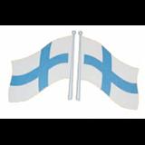 Lippu tarrat  12X8 2kpl oikea /vasen