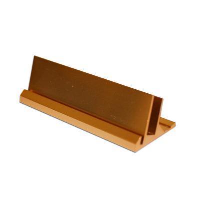 Bordskilt, gull 95 mm