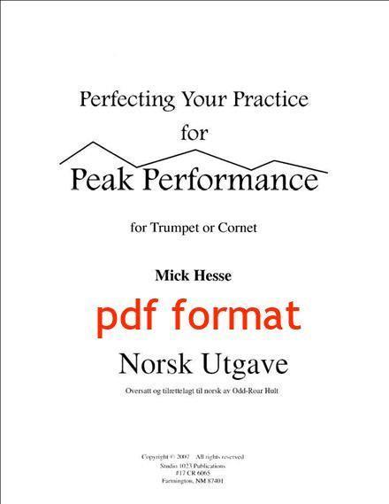 Perfect Practice øvingsbok pdf format