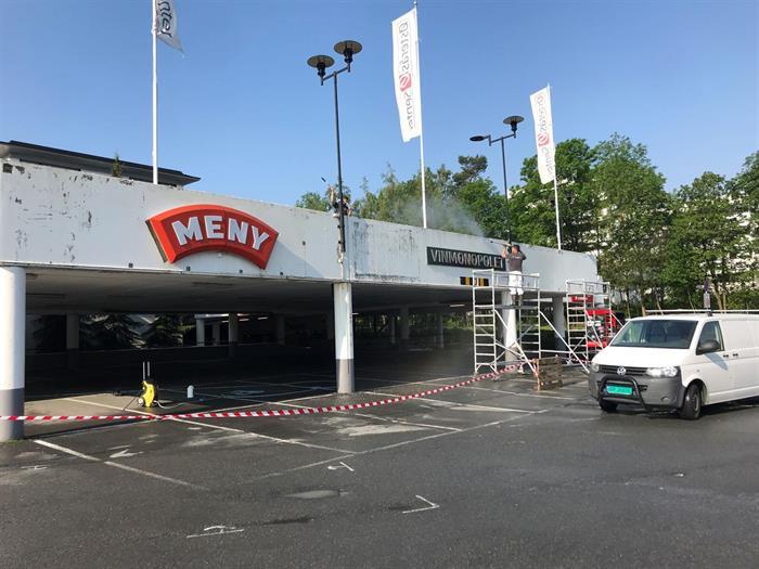 Kjøpesenter  i Bærum