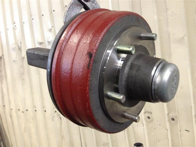Bromsad axeltapp 40x40mm 0,7 ton Art.nr: 617250
