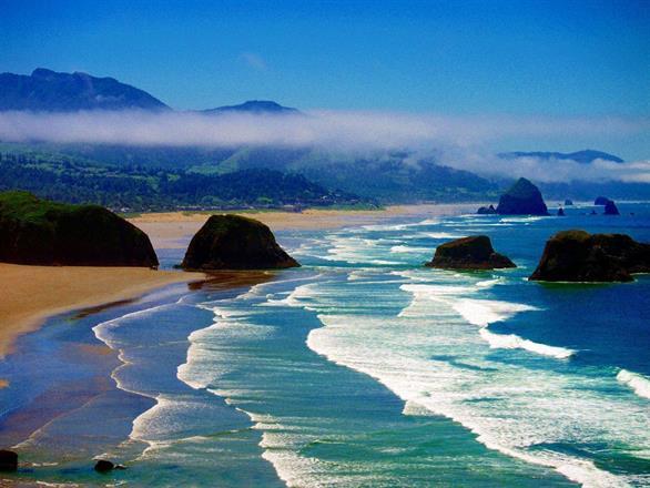Canon Beach, Oregon, USA