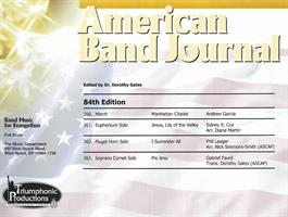AMERICAN BAND JOURNAL No 360 - 363