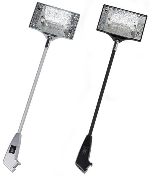 Wall Light Halogen 150 Watt - silver