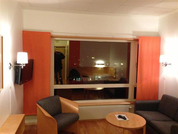 Vi er på Ullevål pasient Hotell - 2012