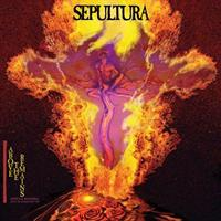 SEPULTURA: ABOVE THE REMAINS LIVE '89-RED LP