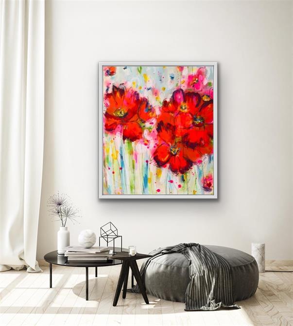 Kajsa Dahls måleri berikar det privata rummet såväl som det offentliga