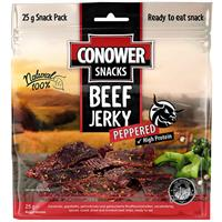 Conower Beef - Jerky Peppered 25g