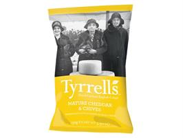 Tyrrells Cheddar Cheese & Chive 150g