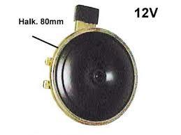 Äänitorvi 12V 60W,  2-napainen. Äänimerkki