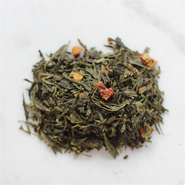 Prova-på-påse grönt te