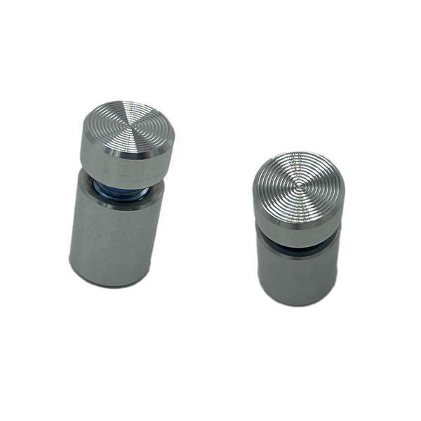 Singel stand off (børstet aluminium)