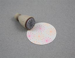 Stempel Small Stjerne med punkter