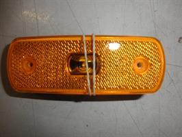 Led äärivalo 12-24v, pit. 105 lev 35 reikäväli 70mm keltainen