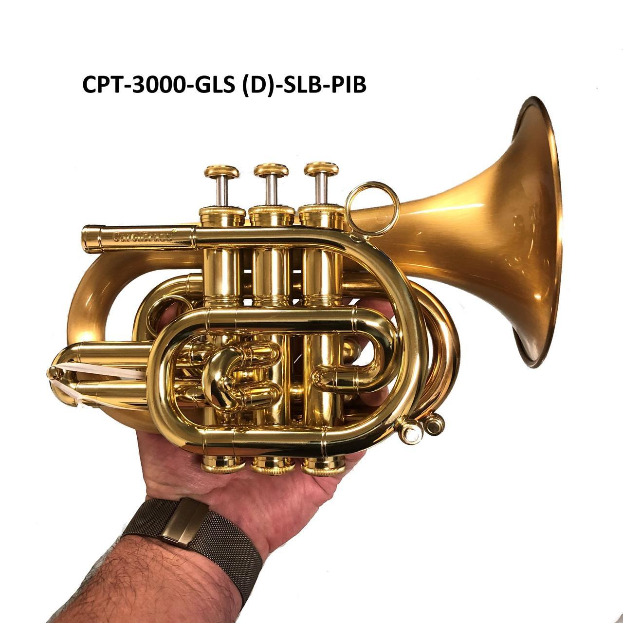Pocket trompet CPT-3000-GLS(D)-SLB-PIB