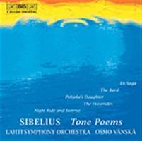SIBELIUS/LAHTI/VÄNSKÄ: TONE POEMS (BIS)-KÄYTETTY CD