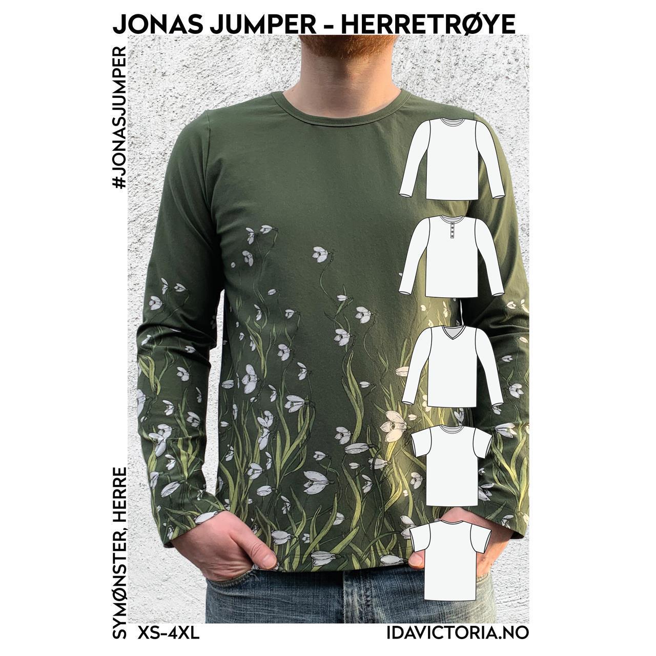 Jonas jumper - herretrøye