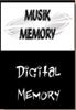 MUSIK-MEMORY  DIGITAL