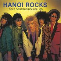 HANOI ROCKS: SELF DESTRUCTION BLUES LP