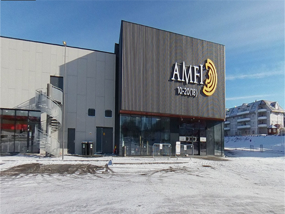 Vi er i Harstad for kjedekunde og jobber på Kanebogen kjøpesenter - April 2017