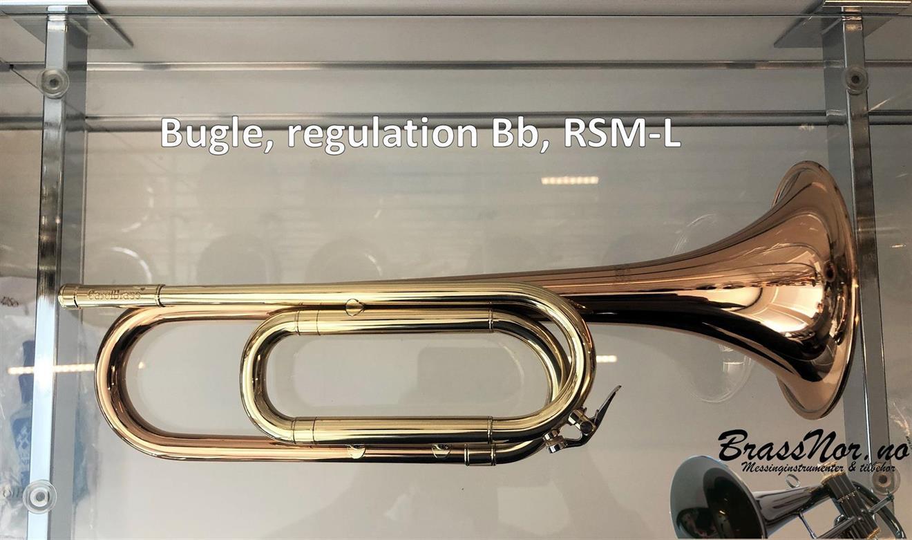Bugle, regulation Bb, RSM-L