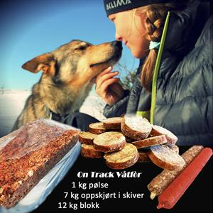 On Track Kjøttmix 12 kg. blokk