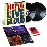NIRVANA: LIVE AND LOUD 2LP