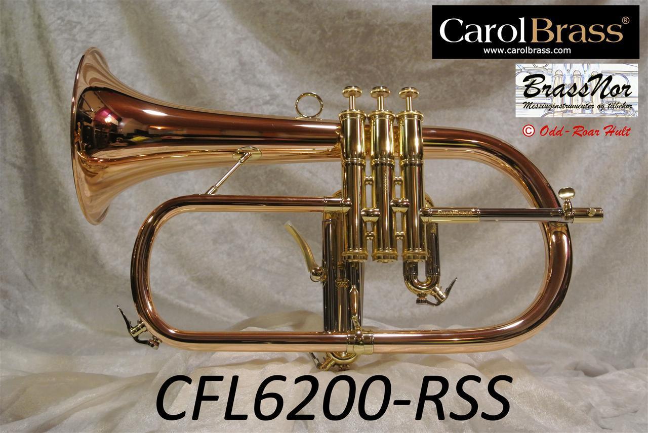 Bb flugel CFL-6200-RSS 90% red brass bell