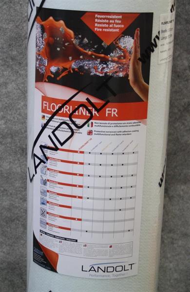 Landolt FR 1m x 25m, paloa jatkamaton, itsekiinnittyvä porras- ja lattiasuoja 24 rll / lava
