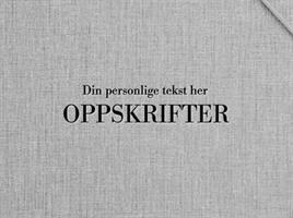 Personlig preg: OPPSKRIFTER + Navn