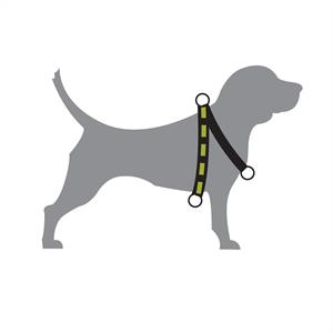 Dog Multi Harness Active cerise S