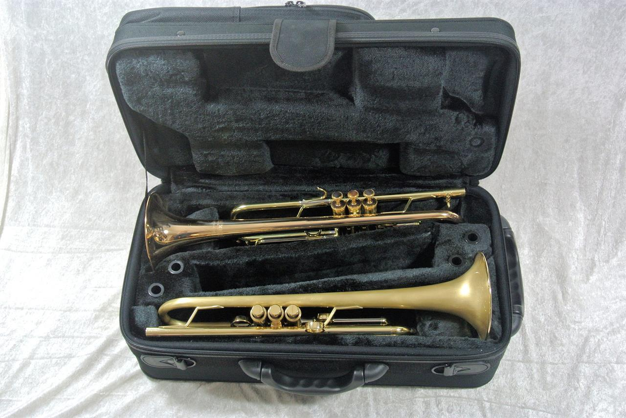 CarolBrass dobbel de luxe trompetbag