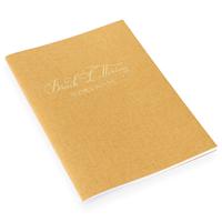 Brush Lettering Workbook Skåne Guld