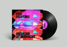FOO FIGHTERS: MEDICINE AT MIDNIGHT-BLACK LP