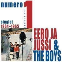 EERO JA JUSSI & THE BOYS: NUMERO 1-SINGLET 1964-1965 2LP
