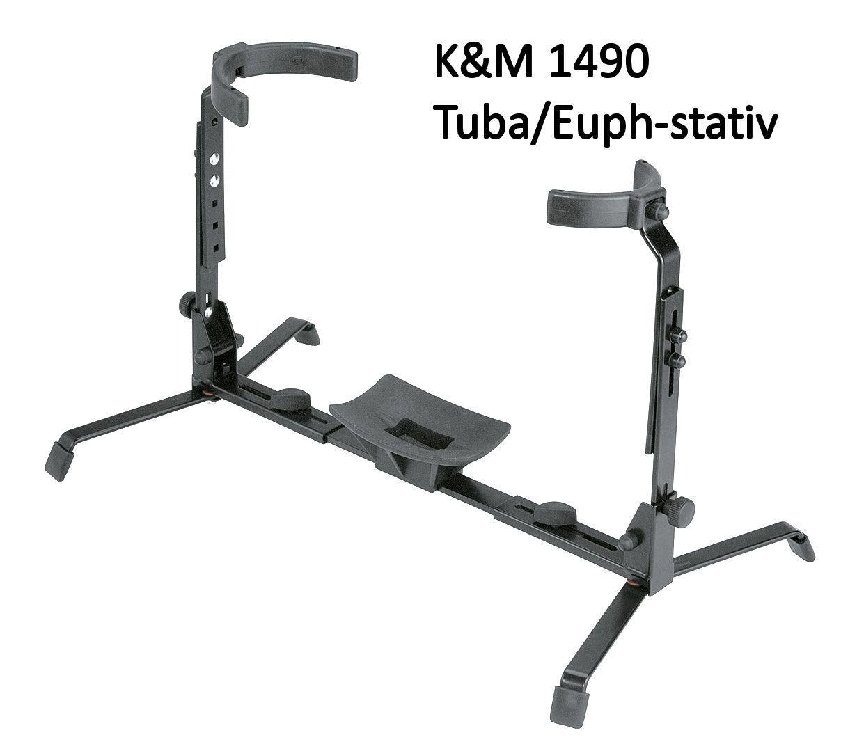 K&M Euphonium/Tuba stand 14940 275-455mm