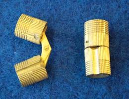 Tynnyrisarana 10mm messinki