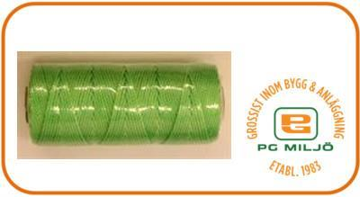 Murarsnöre, fl.grön, 100g