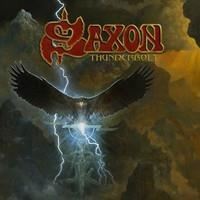 SAXON: THUNDERBOLT-RED LP