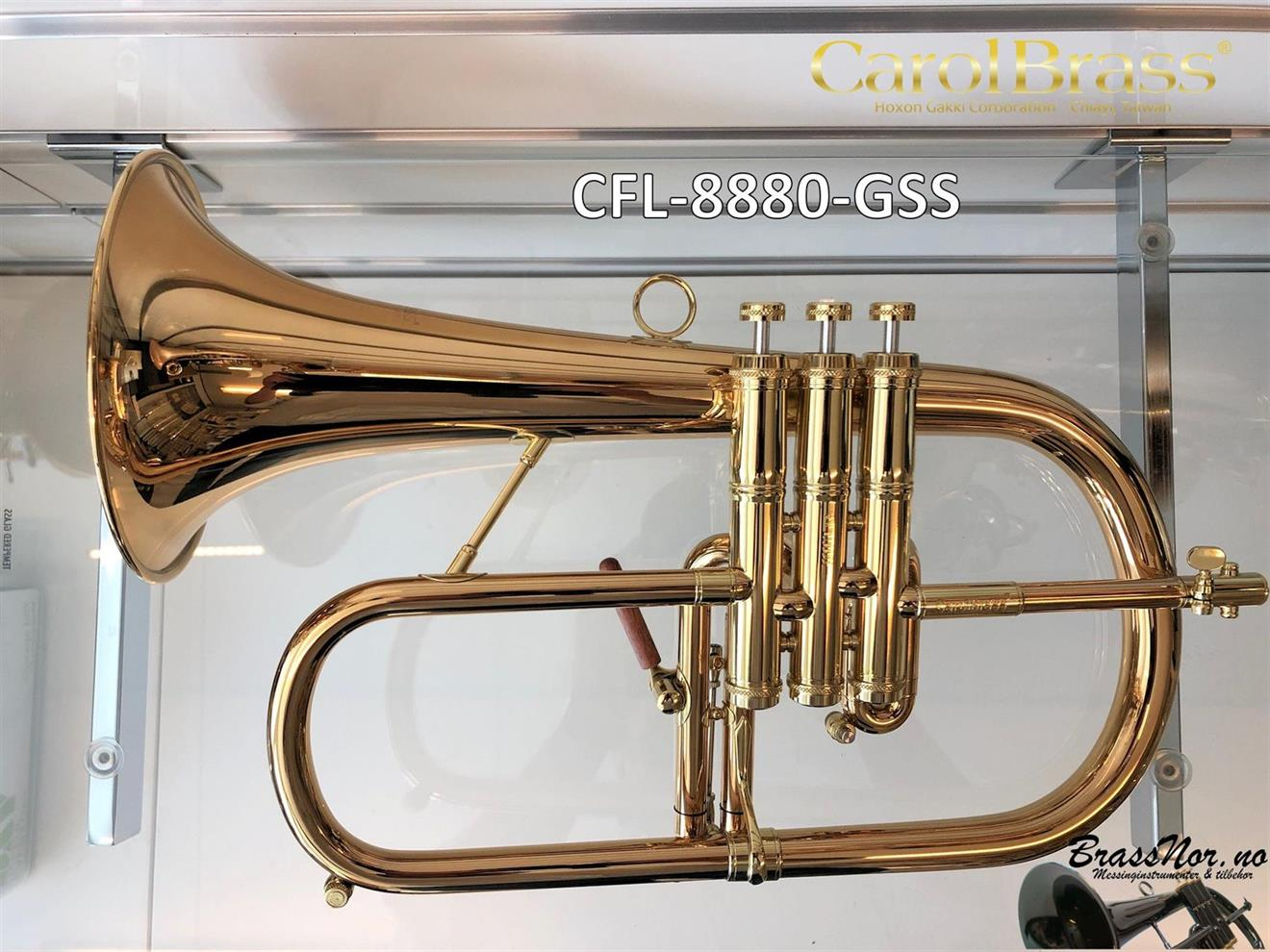 Flugelhorn CFL-8880-GSS 85% gull messing
