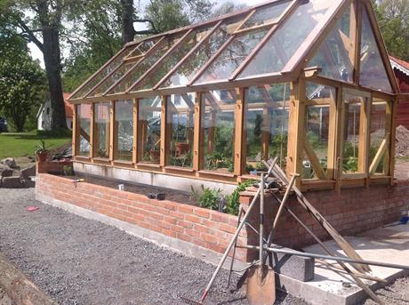 växthus 14 m2